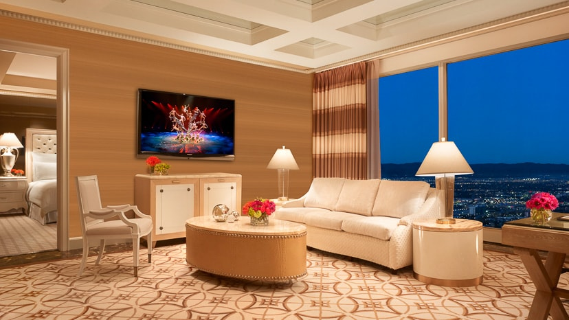 Wynn Parlor Suite Living Room